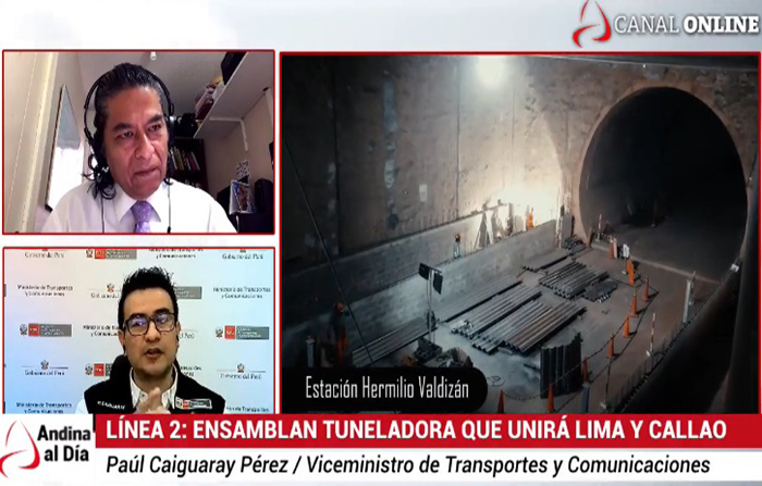 EN VIVO: Cómo es la gigantesca tuneladora del Metro de Lima y Callao