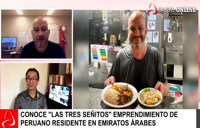 Emprendimiento gastronómico de peruano en Emiratos Árabes