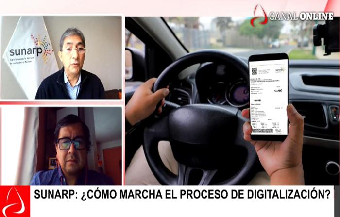 Sunarp: ¿Cómo marcha el proceso de Digitalización?