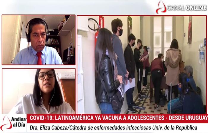 EN VIVO: Covid-19: Latinoamérica ya vacuna a adolescentes