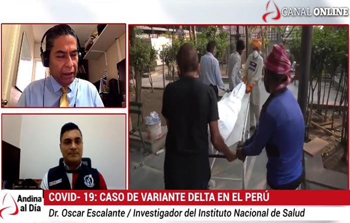EN VIVO: Variante india de Covid en Perú