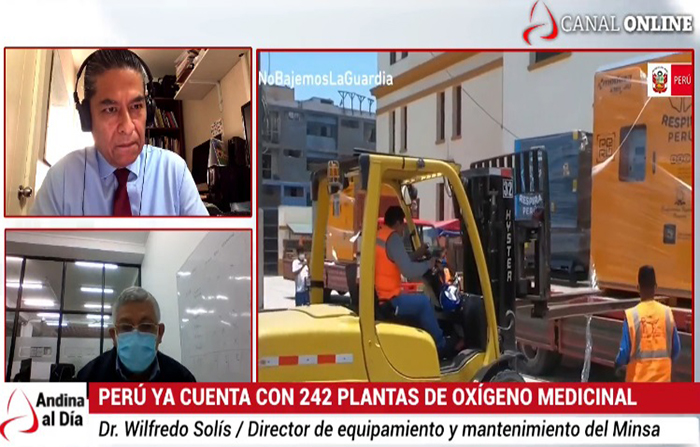 EN VIVO: Perú ya cuenta con 242 plantas de oxígeno medicinas