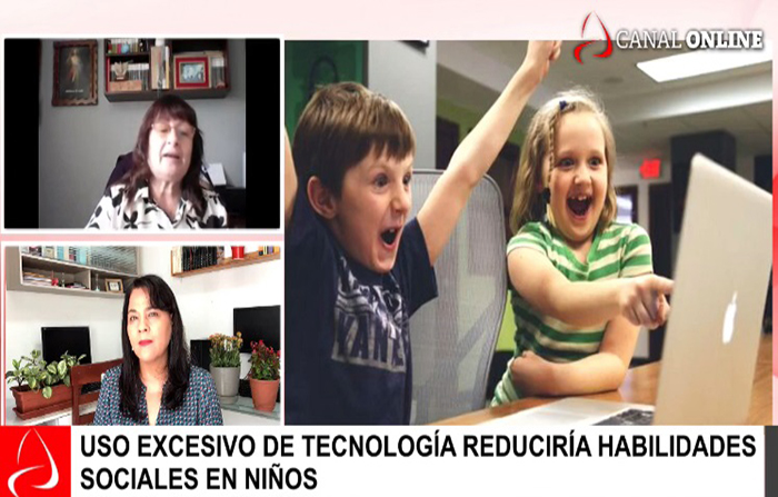 Uso excesivo de tecnología reduciría habilidades sociales en niños