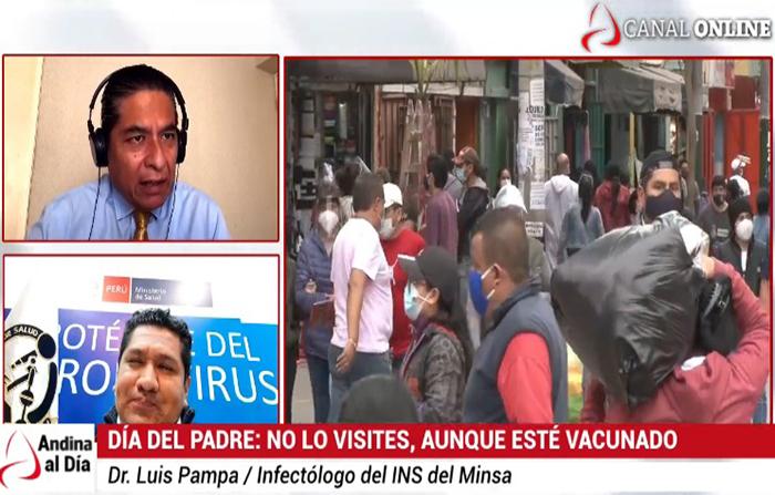 EN VIVO: Día del Padre: Minsa advierte no visitar a papá aunque esté vacunado
