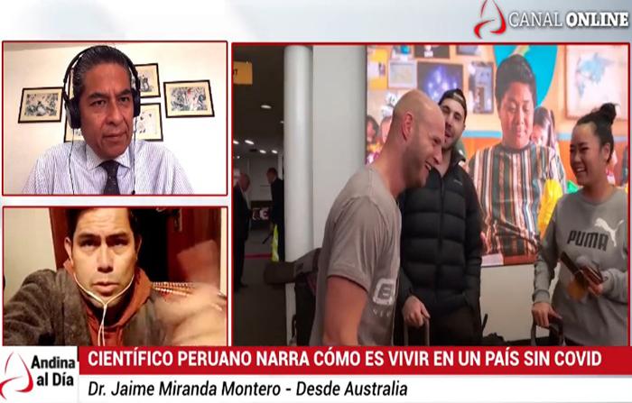 EN VIVO: Desde Australia, científico peruano cuenta cómo es vivir en un país sin covid-19