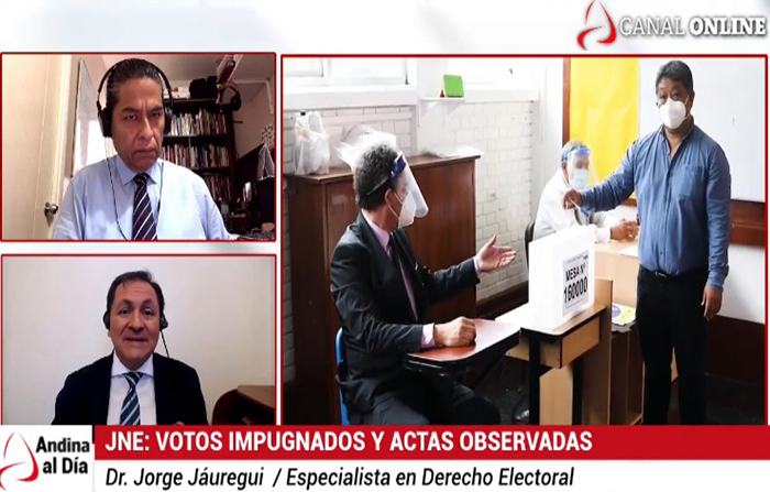 EN VIVO: JNE: Votos impugnados y actas observadas