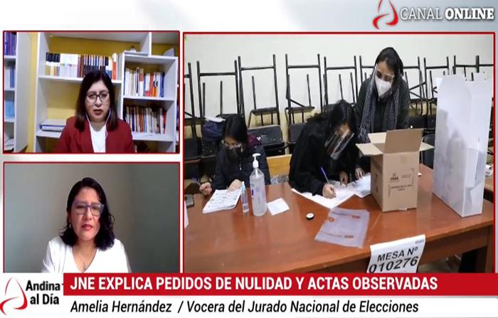 EN VIVO: JNE comenzará a evaluar apelaciones a nulidades rechazadas
