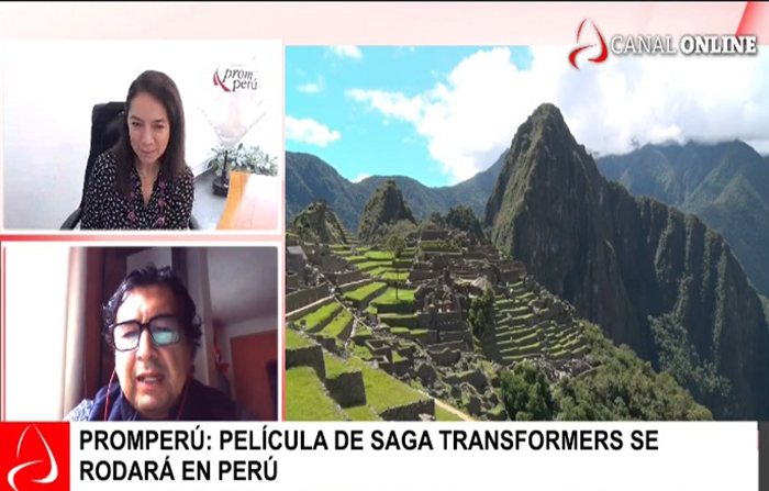 Promperú: Película de saga transformers se rodará en Perú.