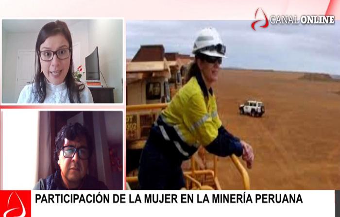 Participación de la mujer en la minería peruana