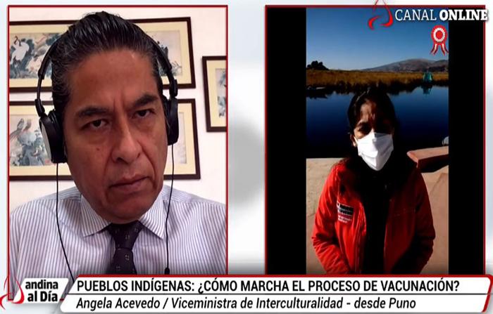 EN VIVO: Pueblos indígenas: ¿Cómo marcha el proceso de vacunación?