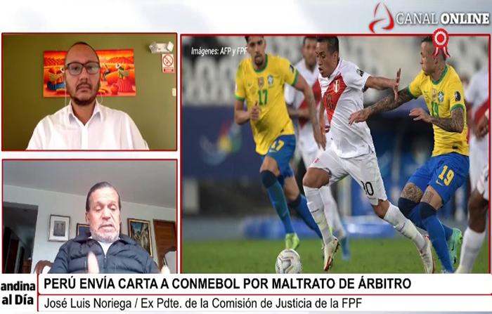 Conmebol: Perú envía carta por maltrato de árbitro