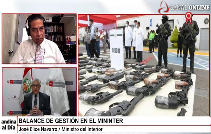 EN VIVO: Entrevista a Ministro del Interior, José Elice