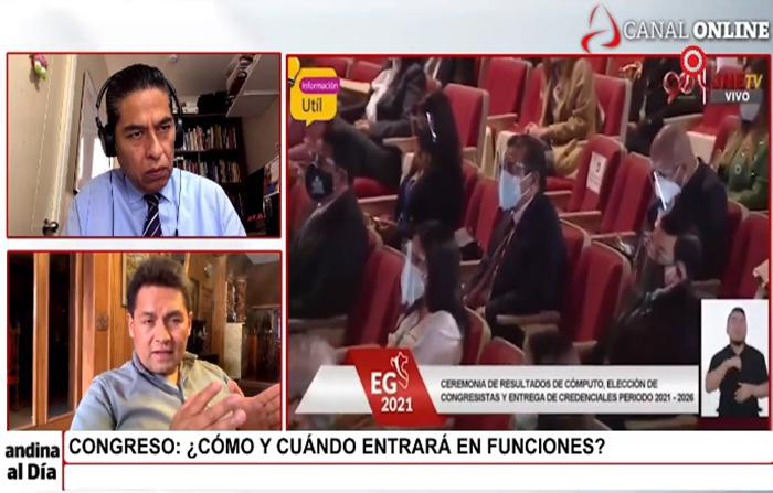 EN VIVO: Congreso: ¿Cómo y cuándo entrará en funciones?
