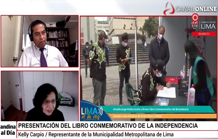 EN VIVO: Libro Conmemorativo de la Independencia