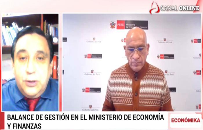 Entrevista a Ministro de Economía y Finanzas, Waldo Mendoza
