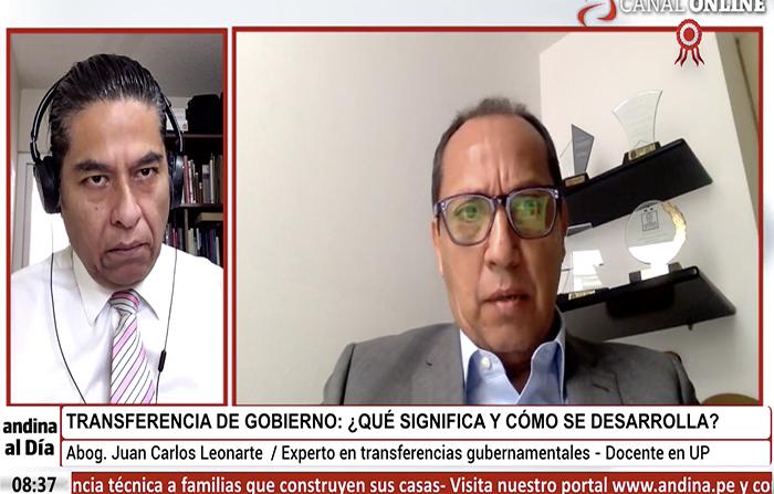 EN VIVO: Transferencia de gobierno: ¿Qué significa y cómo se desarrolla?