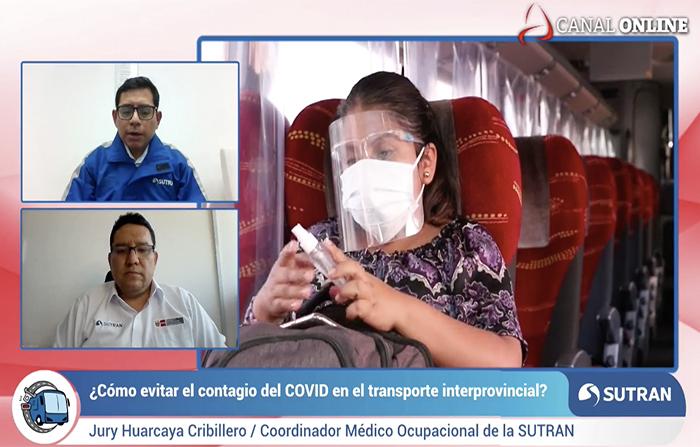 Transporte interprovincial: Cómo evitar contagios covid-19
