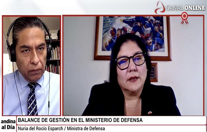 EN VIVO: Entrevista a ministra de Defensa, Nuria Esparch