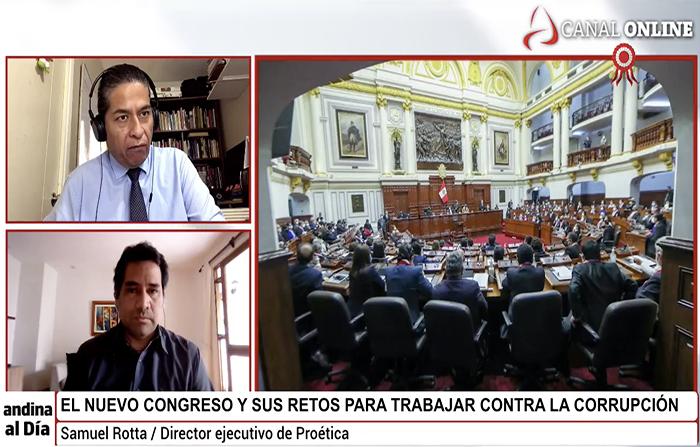 EN VIVO: Pro-Ética presenta Agenda Anticorrupción