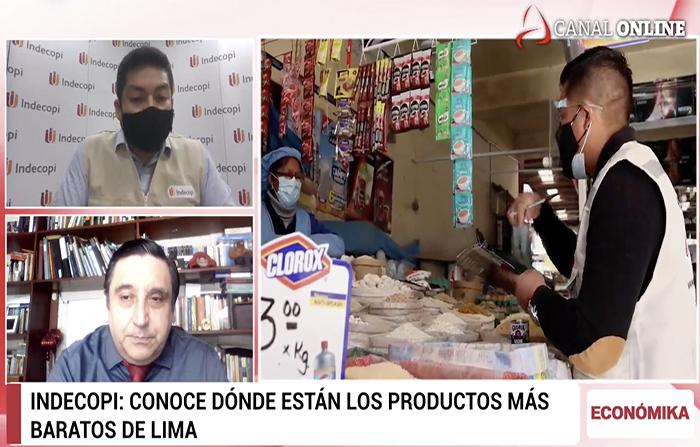 Indecopi: Distritos donde están los productos más baratos de Lima