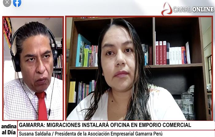 EN VIVO: Gamarra: Migraciones instalará oficina en emporio comercial