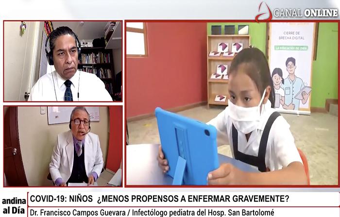 EN VIVO: Covid-19: Niños ¿menos propensos a enfermar gravemente?