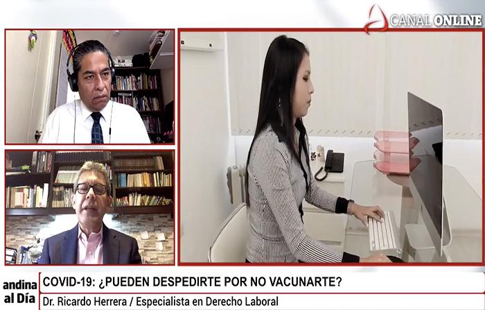 EN VIVO: Covid-19: ¿Pueden despedirte por no vacunarte?