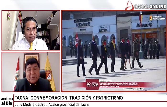 EN VIVO: Tacna: Conmemoración, tradición y patriotismo