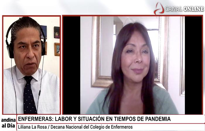 EN VIVO: Enfermeras: Labor y situación en tiempos de pandemia