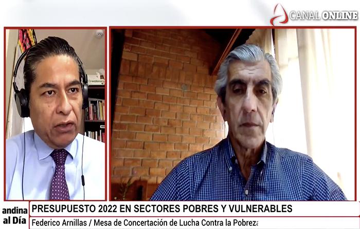 EN VIVO: Presupuesto 2022 para sectores pobres y vulnerables