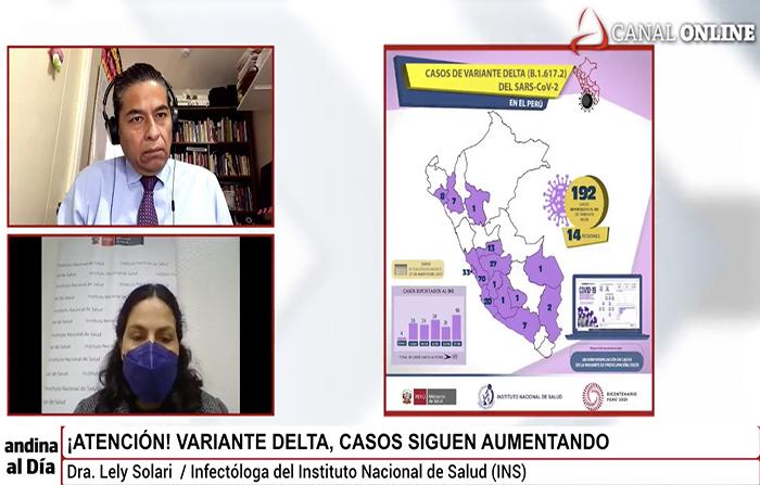 EN VIVO:¡Atención! Los casos de la variante Delta siguen aumentando