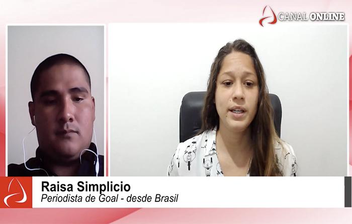 La previa del Perú - Brasil