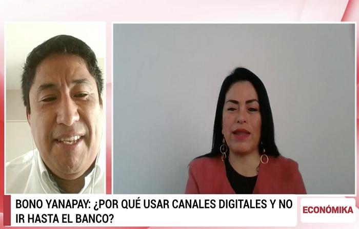 Bono Yanapay Perú: uso de canales digitales para cobrarlo