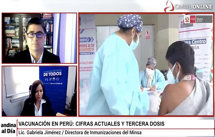 Vacunación en Perú: cifras actuales y tercera dosis