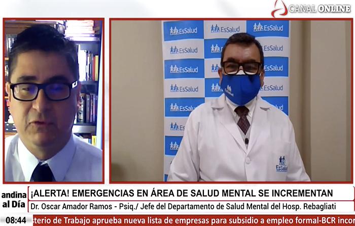 #EnVivo: ¡Alerta! Emergencias en salud mental se incrementan