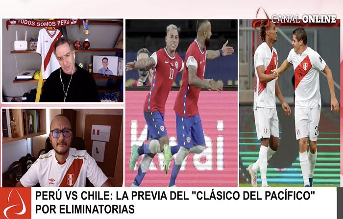 """Perú vs Chile: La previa del """"Clásico del Pacífico"""" por eliminatorias"""