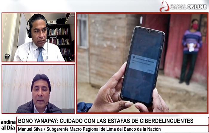 Bono Yanapay: ¡alerta! ciberdelincuentes al acecho
