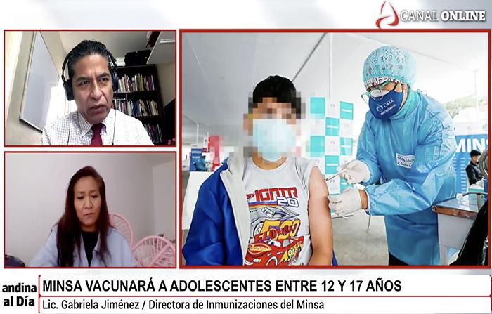 #EnVivo: Adolescentes entre 12 y 17 años serán vacunados