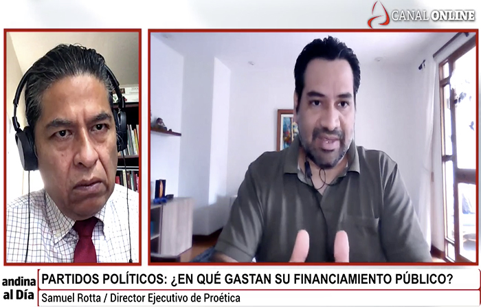 #EnVivo: Partidos políticos y financiamiento público