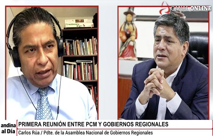 #EnVivo: Primera reunión entre PCM y Gobiernos Regionales