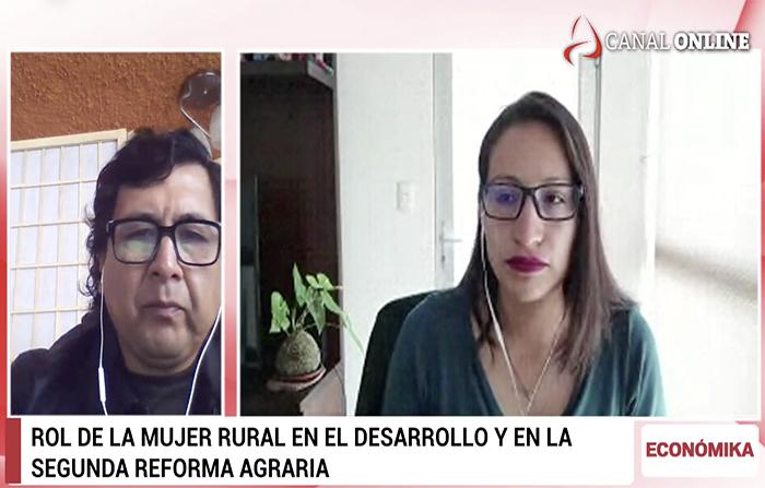 #EnVivo: Rol de la mujer rural en la segunda reforma agraria