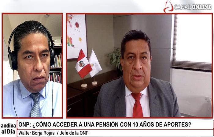 #EnVivo: ¿Cómo acceder a una pensión con 10 años de aportes, en la ONP?