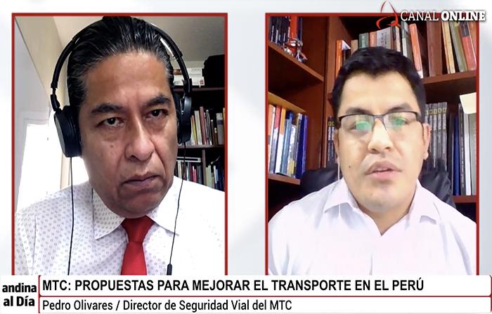 #EnVivo: MTC: ¿Cómo mejorar el transporte en el Perú?