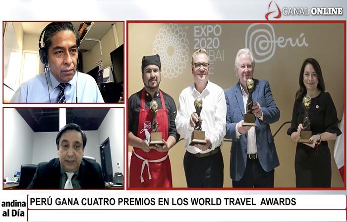 #EnVivo: Perú gana 4 premios en los World Travel Awards