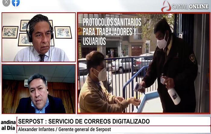 #EnVivo: Serpost digitaliza su servicio de correos