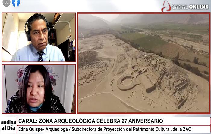 #EnVivo: La Ciudad Sagrada de Caral celebra 27 años