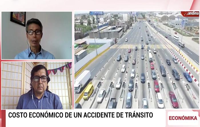 Costo económico de un accidente de tránsito