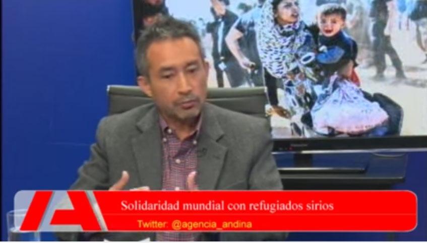 Solidaridad mundial con refugiados sirios