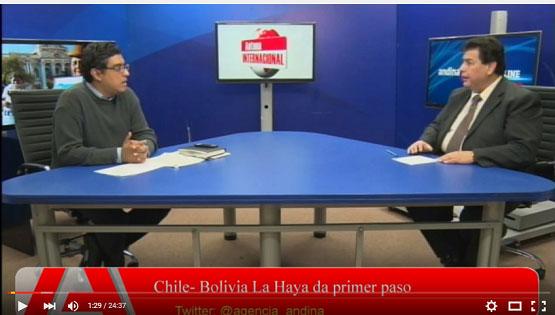 Chile- Bolivia La Haya da primer paso