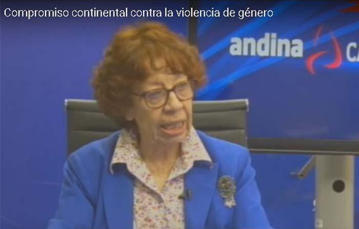 Compromiso continental contra la violencia de género